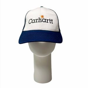 Carhartt Mens Navy Blue / White Baseball Cap